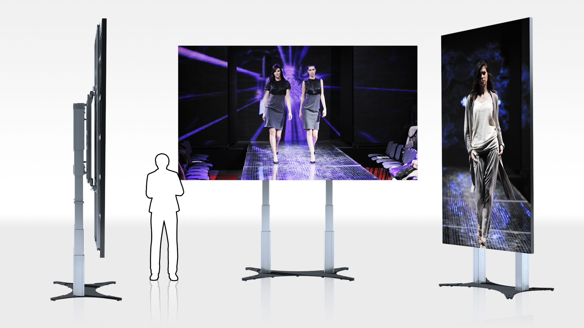 ScreenLifter MOBILE LED 165 für OPTOMA QUADZILLA FHDQ165 LED-Display